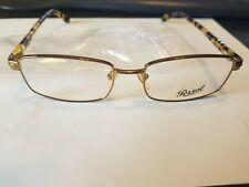 🔸New Authentic Persol 2315-V 891 Gold & Yellow Havana Eyeglasses 53mm 17/140
