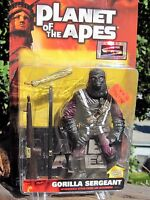 Vintage 1999 Hasbro Action Figure Planet of the Apes Gorilla Sergeant MOC