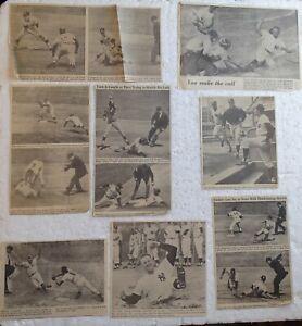 1960's Newspaper Clippings - N.Y. YANKEES, ETC. (10 photos)