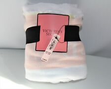 New With Tags Victoria Secret 100% Cotton Pastel Blanket/Towel