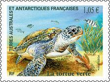 TAAF Frans Antarctica 2014    La Tortue   schildpad     postfris