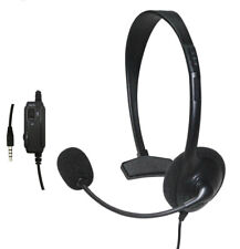 Wired Headset Headphone Earphone Microphone For Sony PlayStation 4 PS4 Game NEW