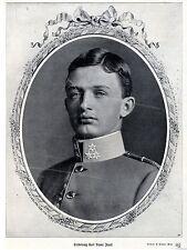 Arciduca Karl Franz Josef * storica ingestione di 1911