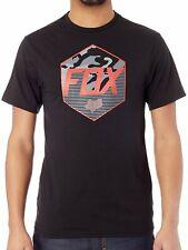 Fox Course Kaster Ss Tech Tee T-Shirt Décontracté Noir Rouge Camo Taille:S