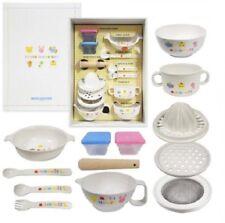 Neu Miki House Erste Tischware Set Fürs Baby 46-7092-848 With Tracking von Japan