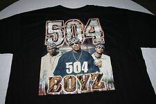 Vintage No Limit Records x 504 Boyz T-Shirt Sz XL 90's Rap Hip Hop Master P RARE