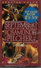 September by Rosamunde Pilcher (Audiobook, Cassette Tape, Abridged) New, Sealed