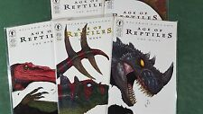 Age Of Reptiles The Hunt #1-5 Complete Series Set NM Dark Horse Dinosaurs