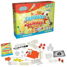 EXPLOSIVE SCIENCE KIT BRAND NEW! 28 EXPERIMENTS AGE 8+ SCIENCE4YOU FREE UK POST!
