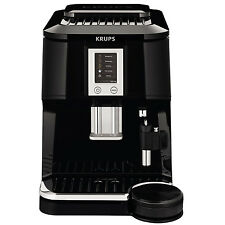 KRUPS Falcon Automatic Espresso Cappuccino Machine w/ Built-in Conical Grinder