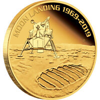 2019 50th Anniversary Of The Moon Landing 1oz Gold Proof Coin