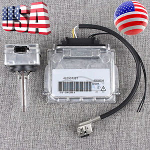 Xenon HID Headlight Ballast & Ignitor & Bulb For BMW 135i 128i E82 E88 89034934