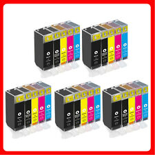 25 XL Ink Cartridges For Canon MP560 MP620 MP630 MP640 MP980 MP990 MX860 MX870