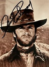 CLINT EASTWOOD REPRINT AUTOGRAPHED PHOTO. PALE RIDER. JOSEY WALES. DIRTY HARRY.