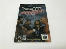 WCW NWO REVENGE - Nintendo 64 N64 - Instruction Manual Only booklet - TAPED
