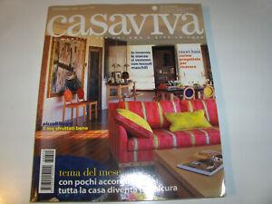 CASAVIVA - NOVEMBRE 2006 - N.11 - ANNO XXXIV - CASA SICURA - CUCINE X RICEVERE
