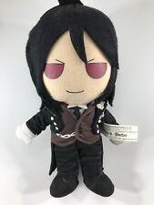 Black Butler Kuroshitsuji Sebastian Plush doll Square Enix Yana Toboso US SELLER