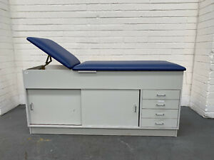 Brooksbuilt Medical Cabinets / Examtion Couch with lockable drawers