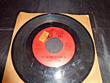 """Vintage Johnny Preston 45 RPM Record, """"You Can Make It If You Try"""" 1950s, Promo"""