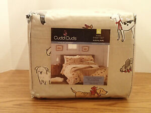 Dog Flannel Sheets For Sale In Stock Ebay