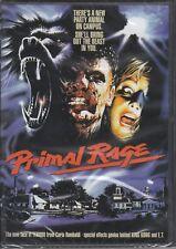 PRIMAL RAGE horror *CODE RED DVD NEW* Umberto LENZI Claudio SIMONETTI goblin OOP