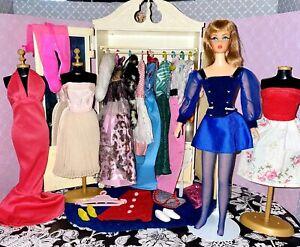 Vintage TNT Barbie Doll Susy Goose Clothes & Accessories Lot