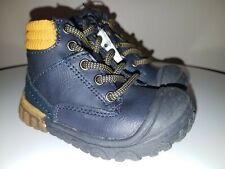 NEW CAT & JACK Chaz Toddler Boys HIGH TOP BOOTS Shoes Blue/Navy - Size 4