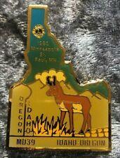 Lions Club Lapel Pin Multiple District MD39 Oregon Idaho 1993