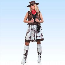 Cowgirl Kostüm Faschingskostüm Tierwelt Wilder Westen Cowgirlkostüm wbl. Cowboy