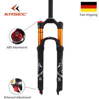"""MTB Fahrrad Luftfeder gabel 120mm Reise 26/27.5/29"""" Ultraleicht Scheibenbremse"""