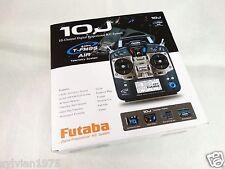 Futaba 10JH 10J 10CH 2.4GHz T-FHSS/S-FHSS Heli Radio System TX W/R3008SB SBus RX
