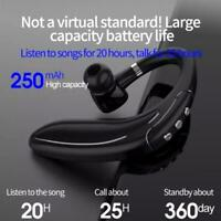 2021 Wireless Bluetooth 5.0 Headset Noise Cancelling Earpiece Driving Earbuds HO