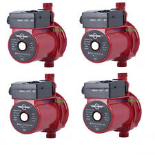 Pack of 4 Automatic Booster Pump 3/4'' Boost Water Pressure for Solar Heater