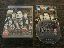 Sleeping Dogs - Sony PlayStation 3 / PS3 - 2012 - Pal Version Action & Adventure