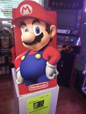 """Official Nintendo Promotional Toys """"R"""" Us Exclusive Mario Standee Brand New"""
