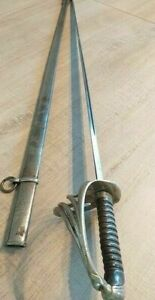 INFANTRY OFFICER'S SABER/SWORD 1882 WITH SCABBARD