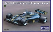 Ebbro 20019 - 1/20 Team Lotus Type 91 - 1982 Belgian Gp - Neu