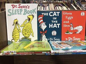 Dr Seuss Beginner Books  Lot of 10 Assorted/Random Books FREE SHIPPING!!