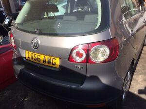 2006 Volkswagen Golf Plus Breaking