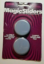 "MAGIC SLIDERS L P 4050 4 Pack 2"" RND Sliding Disc #A1"