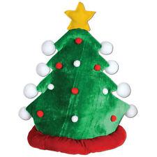 Santa Hat PLUSH CHRISTMAS TREE Cap - Fun Xmas Holiday Office Party - BRAND NEW