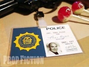 Kojak - NYPD Police Warrant Clip-on Prop / Cosplay Detective ID Card