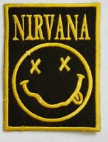 Nirvana Rock music Band Iron or Sew On Embroidered Patch