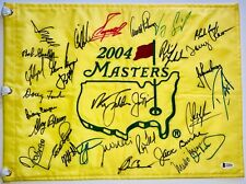 2004 Masters flag signed 30 champs Jordan Spieth phil mickelson jack nicklaus