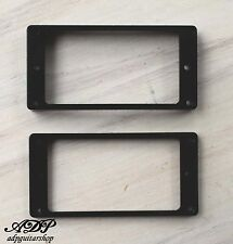 2 CONTOURS HUMBUCKER Gibson LP BLACK Pickup Mounting Ring Curved Les Paul MR-2B