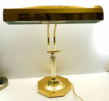 Vintage Brass Piano Lamp 2 Bulb Adjustable