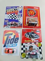 Matchbox & Racing Champions 1:64 NASCAR Lot Of  4 Die Cast Diecast Vintage B5