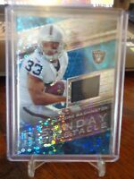2018 PANINI SPECTRA DEANDRE WASHINGTON JERSEY CARD 83 /99 RAIDERS