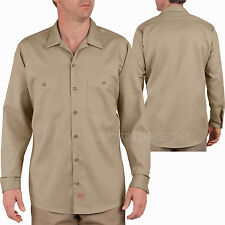 Men's work Shirts Dickies Industrial Patterned Long Sleeve / Short Sleeve Shirt