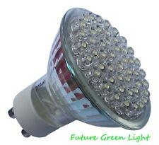 GU10 48 LED 240V 2.4W 120LM WHITE BULB ~35W